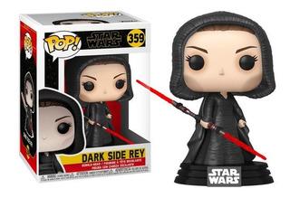 Funko Pop Dark Side Rey 359 Star Wars Original - Minijuegos