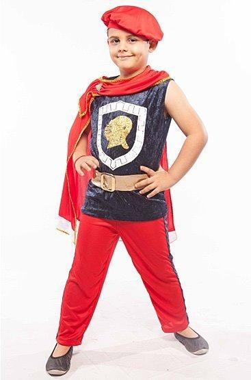 Fantasia Roupa Príncipe Infantil Menino Rei Formatura