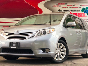 Toyota Sienna Limited Piel Limited Qc Dvd At 2013 Excelente