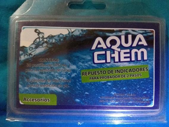 Repuesto De Indicadores Probador Dos Pasos Aqua Chem 60pasti