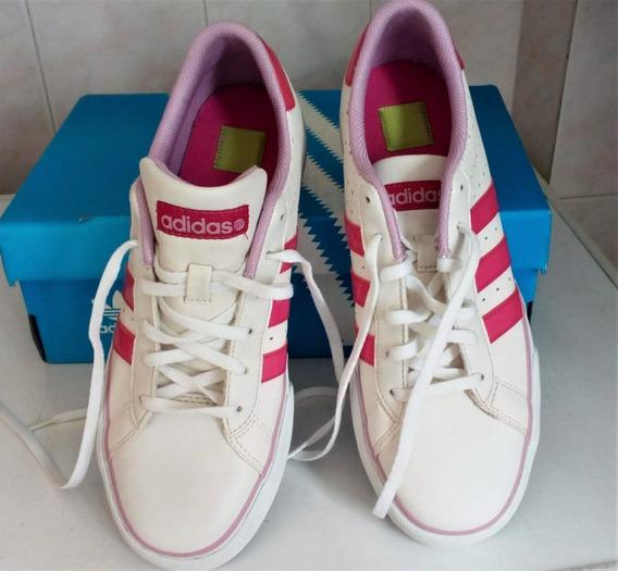 Zapatillas adidas Original Blanco-rosa