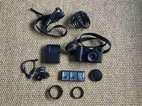 Camera Fujifilm X100f Fuji + Muitos Acessórios
