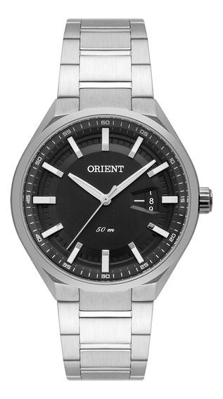 Relógio De Pulso Orient Masculino Mbss1344 G1sx - Prata