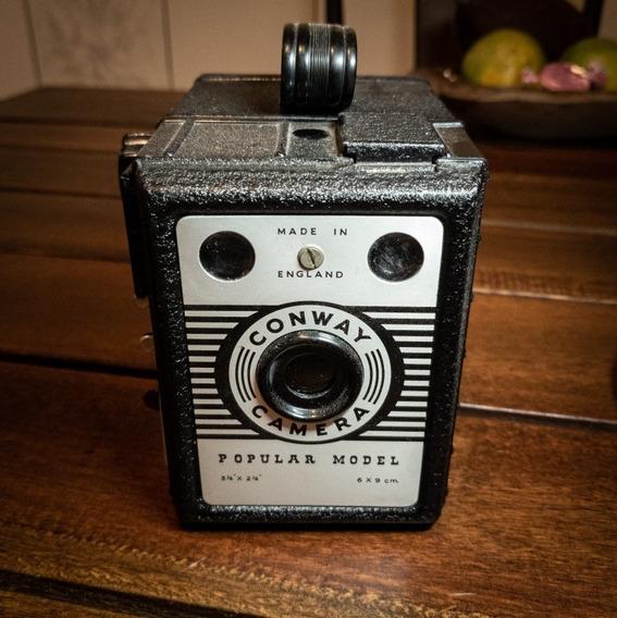 Câmera Box Conway Popular Model Médio Formato 120 6x9