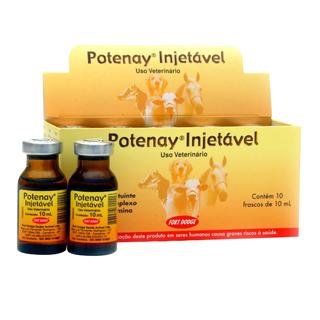 Potenay Injetavel 10ml C/10 Frascos - Original Frete Gratis