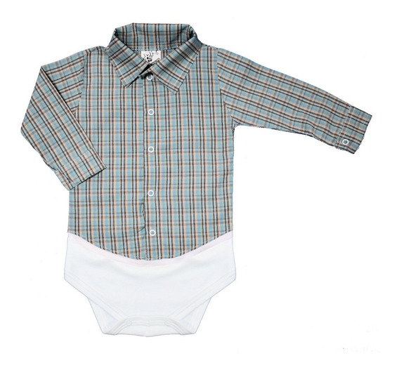 0087e9b2460a Body Xadrez Bebe - Bodies de Bebê no Mercado Livre Brasil