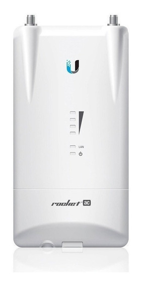 Access point exterior Ubiquiti Networks Rocket R5AC-Lite blanco