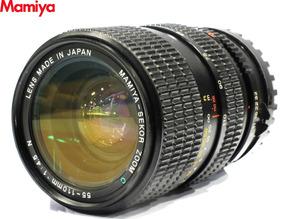 Lente Mamiya Zoom 55-110mm F/4,5 N Para 645 Médio Formato
