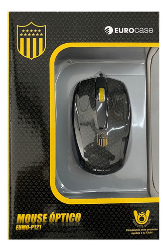 Mini Mouse Optico Cableado Usb 2.0 Eurocase 800dpi Peñarol ®