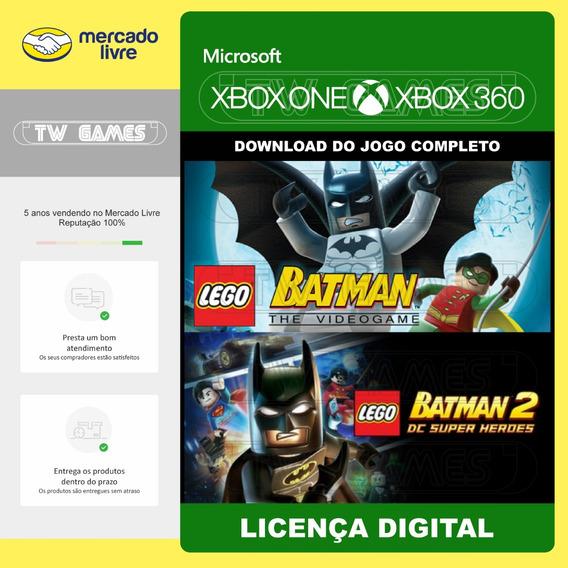 Lego Batman 1 E 2 Digital Retrocompativel Xbox One Xbox 360