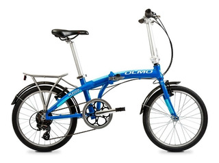 Bicicleta Plegable Olmo Pleggo Rodado 20 Full 7 Velocidades