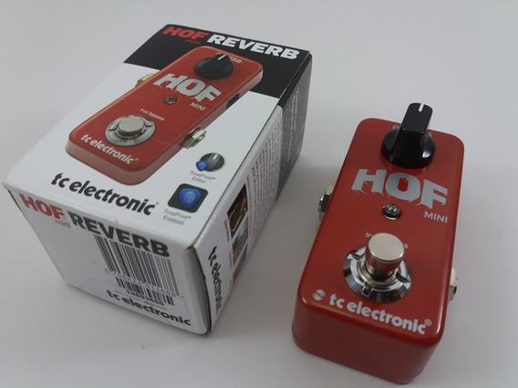Pedal Tc Eletronic Reverb Hall Of Fame Mini