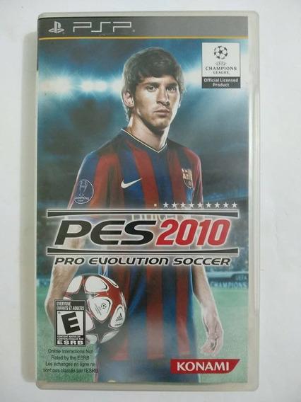 Jogo Original Psp Pes Pro Evolution Soccer 2010 Com Encarte