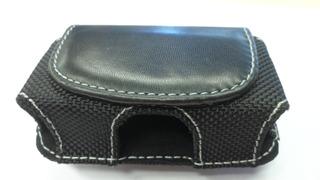 Funda Celular Motorola V300 Cuero Estuche Negro Iman E8030