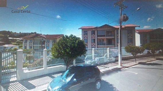 Apartamento Com 2 Dormitórios À Venda, 69 M² Por R$ 270.00 -edifício Clarissa - Águas De Lindóia/sp - Ap0096