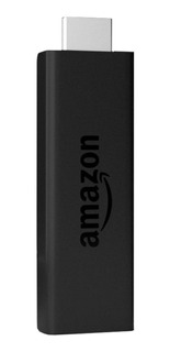Streaming media player Amazon Fire TV Stick (2nd Generation) de voz 8GB negro con memoria RAM de 1GB