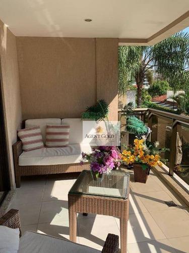 Imagem 1 de 27 de Apartamento Com 4 Dormitórios À Venda, 130 M² Por R$ 989.000,00 - Freguesia (jacarepaguá) - Rio De Janeiro/rj - Ap2253