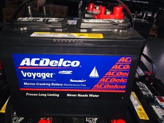 Acumulador O Bateria Marina Lancha Acdelco American Hp27