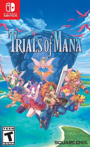 Trials Of Mana - Switch Dia 28 -pronta Entrega!! Switch