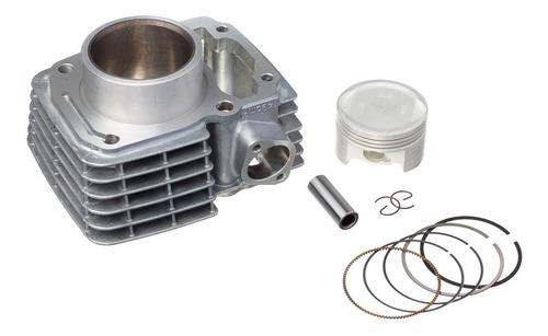 Imagem 1 de 5 de Kit Motor Cilindro Pistão Anéis Fan / Titan 150 2004 A 2015