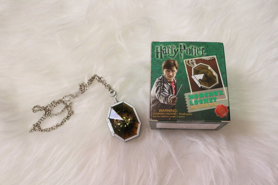 Colar Medalhão Harry Potter Sonserina Slytherin