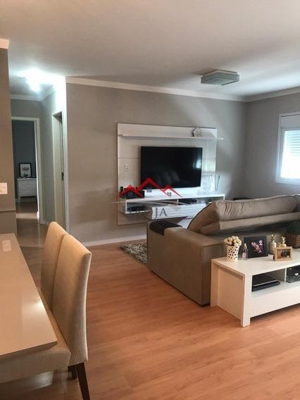 Lindíssimo Apartamento Para Venda No Residencial Soneto Em Jundiaí Sp. - Ap00083 - 34950929