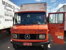 Mercedes-benz Mb 608/79 Vermelha Bau