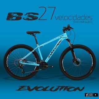 Bicicleta Evolution Aro 29, 27 Marchas