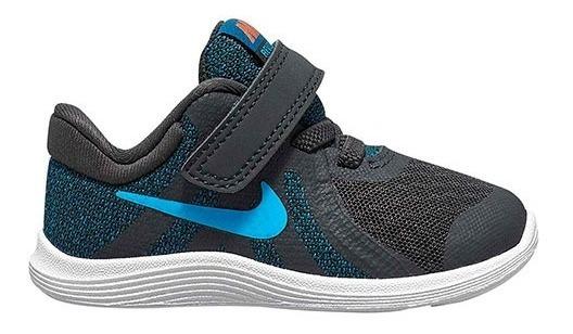 Tenis Nike Revolution 4 Negro Tallas De #11 A #16 Bebes