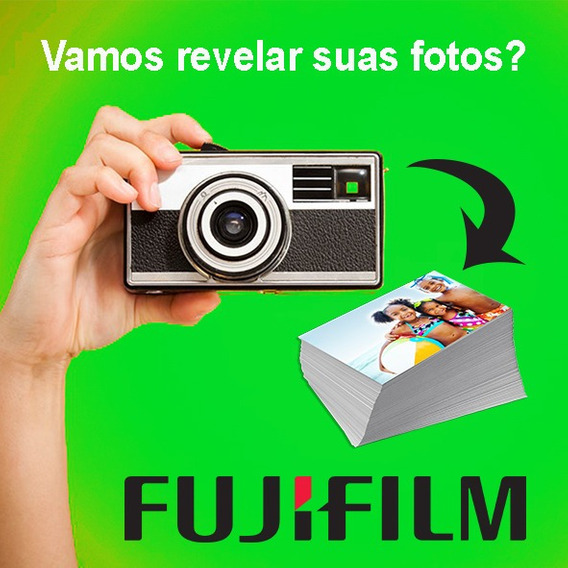 Revelação 300 Fotos 15x21 + 3 Albuns Para 100 15x21 Fuji