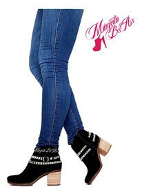Zapatos Botas Botinetas Charritos Texanas Invierno Moda 2019