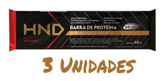 3 Barrinhas Proteica Queima De Gordura Original