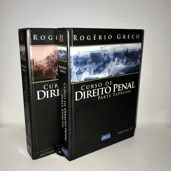 Curso De Direito Penal Rogério Greco Vol I E Ii Capa Dura