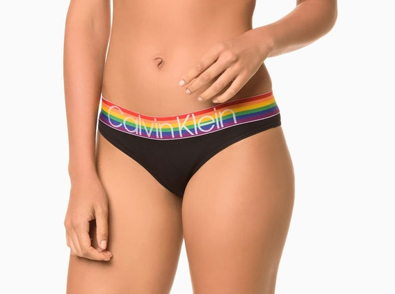 Calcinha Tanga Calvin Klein Pride Edition - Original