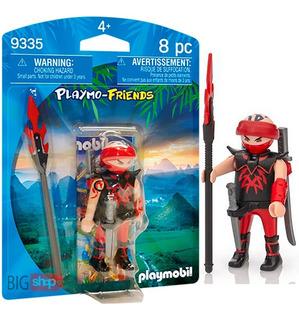Playmobil 9335 Friends Ninja Muñeco Original Nuevo Bigshop