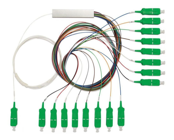Splitter Óptico Balanceado 1x16 Sc/apc Xfs 1162 Intelbras