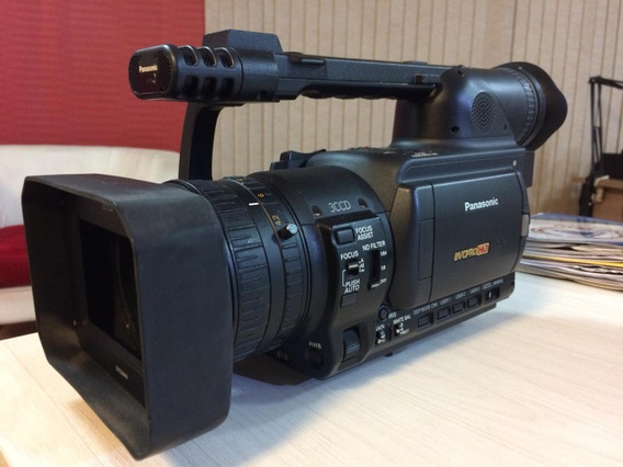 Filmadora Panasonic Hvx200p 3-ccd P2/dvcpro Hd