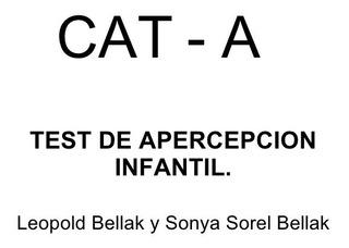 Cat - A Test Bellak