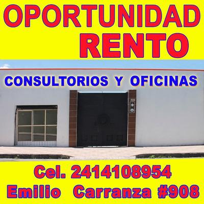 Renta De Oficinas O Consultorios