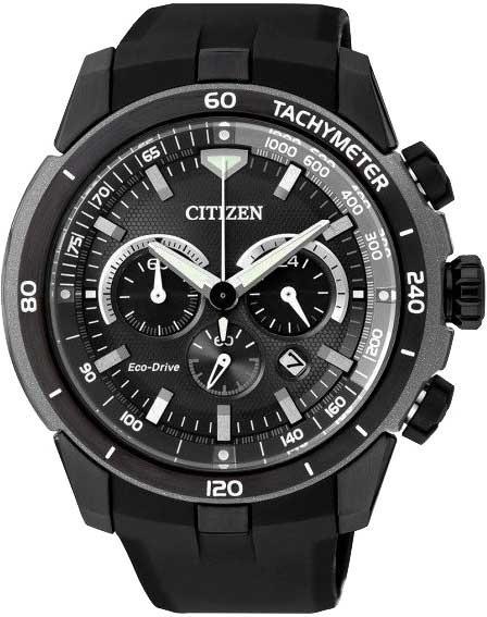 Relógio Citizen Masculino Eco Drive Cronógrafo Ca4157-09e /