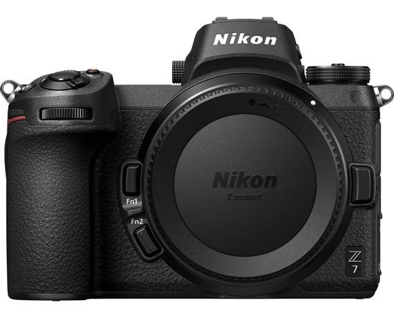 Nikon Z7 Mirrorless Body 4k 2019 45mp Full Frame