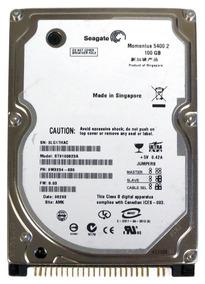 Hd 2.5 100gb Ide Pata 5400rpm P/ Notebook Novo Seagate