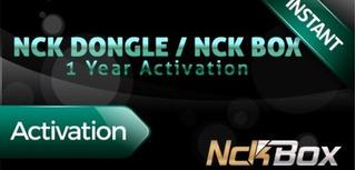 Activacion Nck Dongle 1 Año