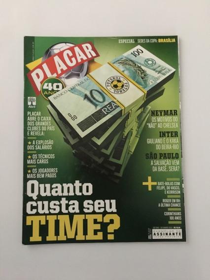 Revista Placar Nº 1346 Setembro 2010 Neymar Inter São Paulo