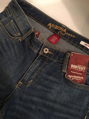 Pantalon Para Dama Arizona Jeans Talla 11 Usa Nuevo Original Mercado Libre