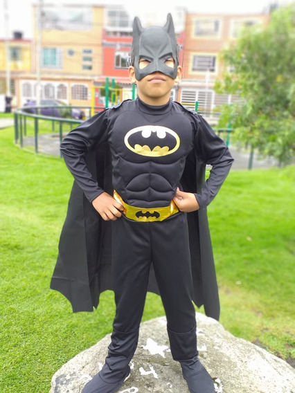Disfraz Para Niño Batman 30verd Importado