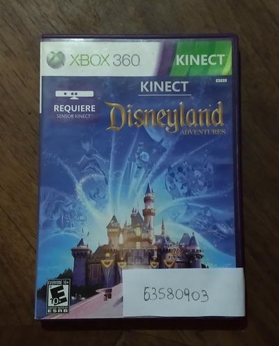 Disneyland Juego Físico Para Xbox 360 Usado, Para Kinect.