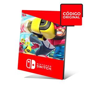 Arms - Jogo Nintendo Switch - Código Digital - Sem Juros