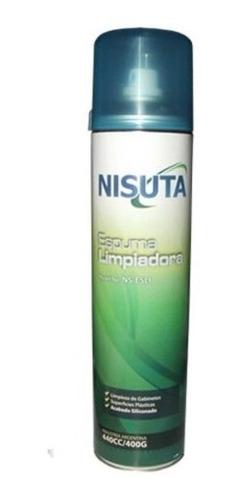 Espuma Limpiadora De Superficies 400g Cc Nisuta