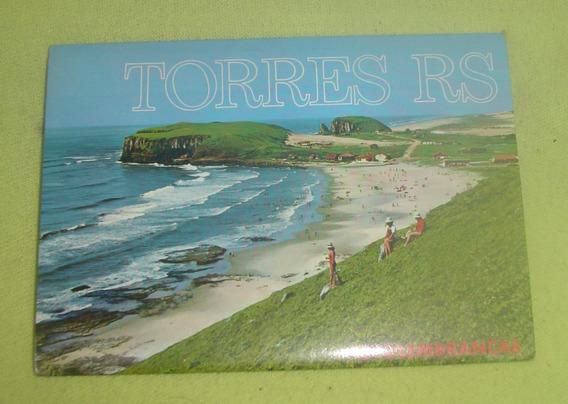12 Postais Antigos Cidade De Torres - Rs - Frete Grátis